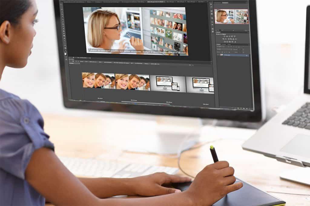 Une ergonomie conceptuelle utilisée dans la Création d'un Site Web Professionnel