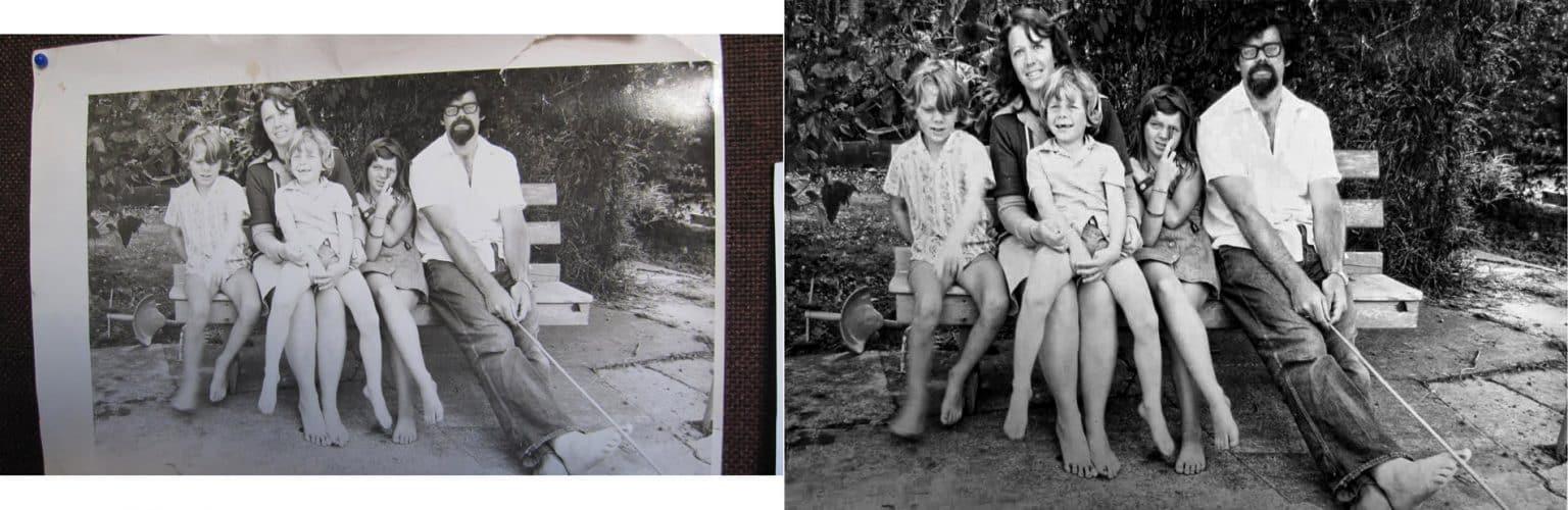 Reconstitution Perspective Restauration et retouche d'images
